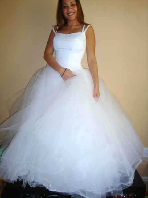 vintage BETSEY JOHNSON huge tulle ballet wedding dress size xs ...