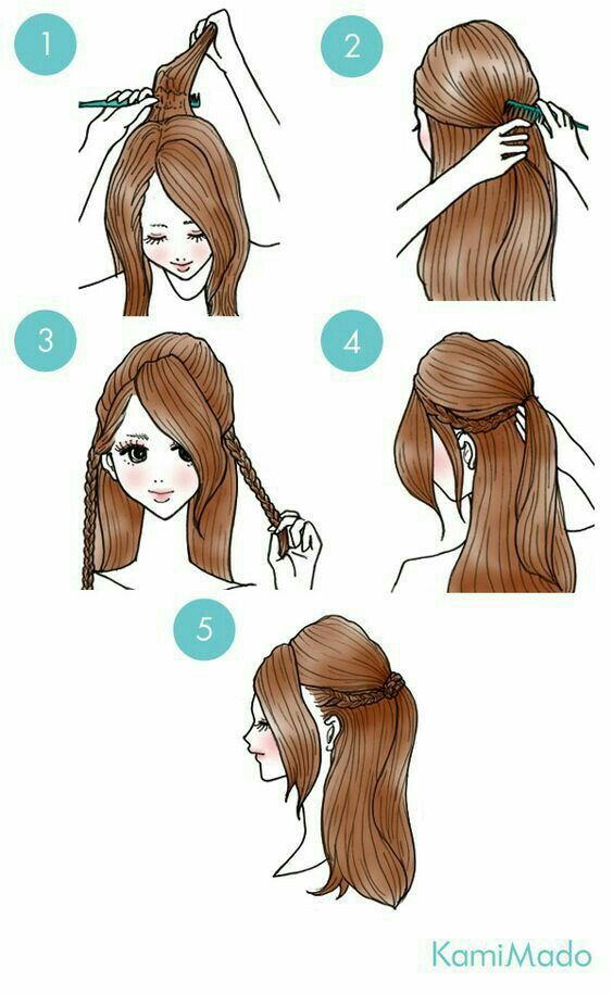 Hairstyle Tips Stepbysteps Simple Hairstyles In 2019