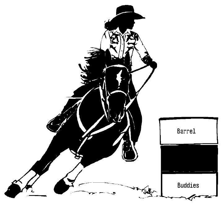 Clip Art Barrel Racing Clip Art 1000 images about barrel racing on pinterest paint horses american quarter horse and sayings