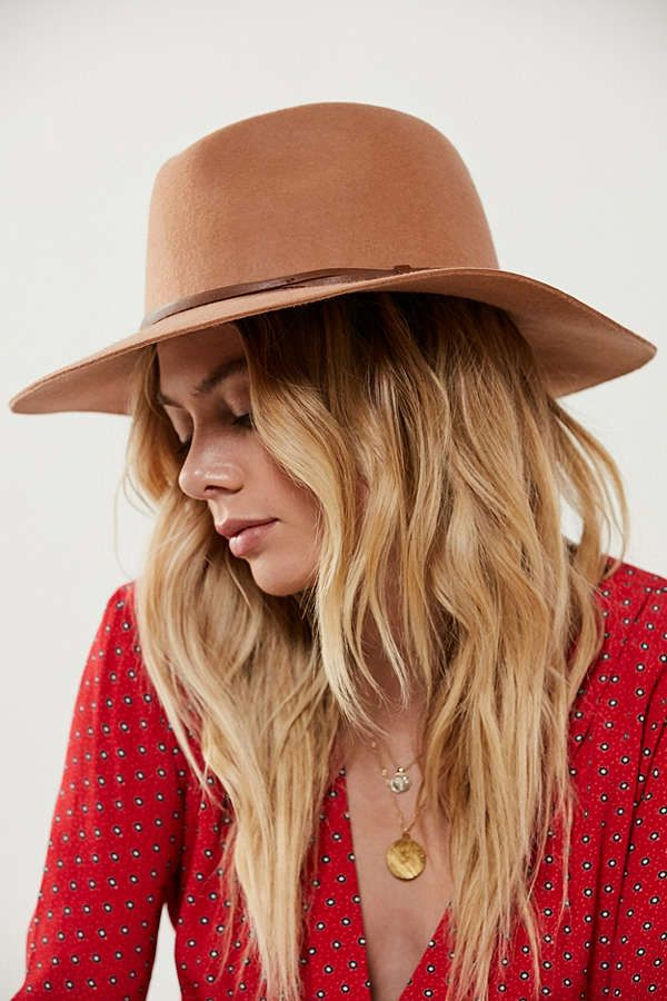 ee812a5fc UO Anna Felt Panama Hat | Urban | Outfits with hats, Hats, Floppy hats