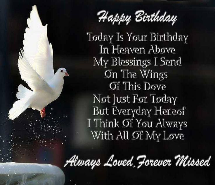 Happy Birthday Lost Loved Ones Quotes : happy birthday mom your birthday birthday cards birthday angel july ...