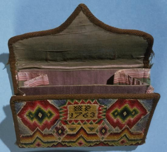 """6"""" wide pocketbook with inscription """"HP 1763"""""""