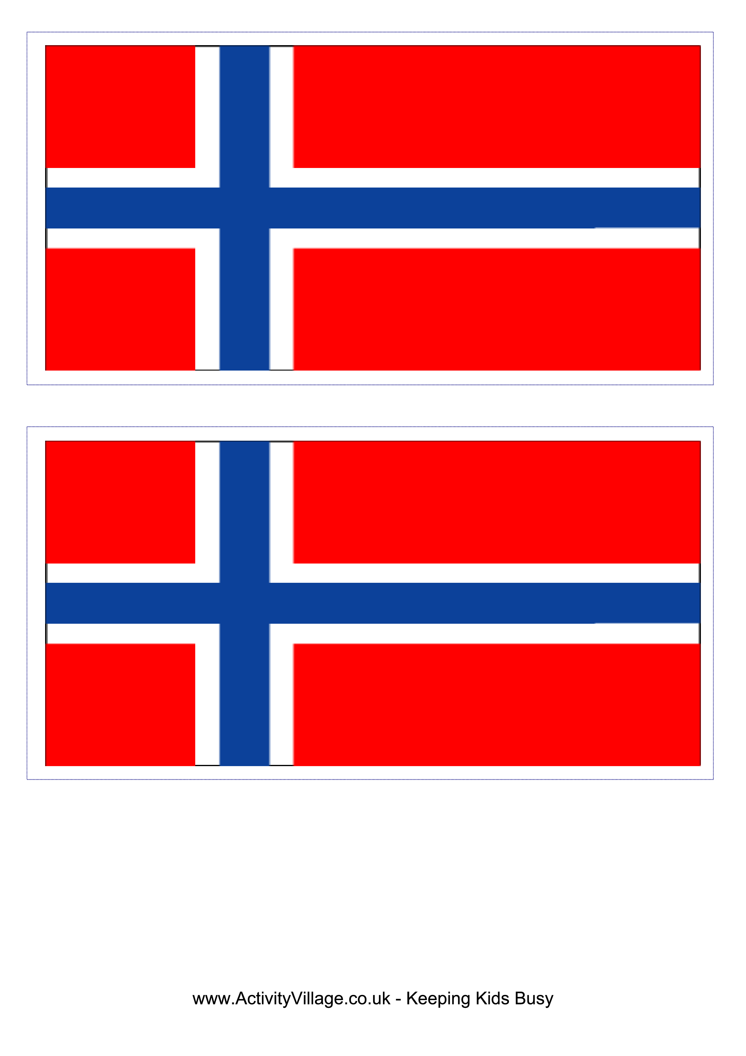 Norwegian Flag Download This Free Printable Norwegian Template A4 Flag A5 Flag 8 And 21 Flags On One A4page Easy Flag Printable Norwegian Flag Norway Flag