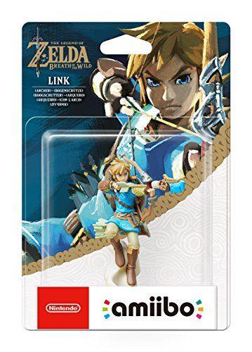 Nintendo - Figura Amiibo Link Arquero Serie Zelda