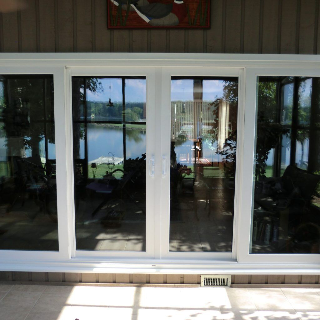 Vinyl Sliding Patio Door And Glass And White Wooden Patio With French  Sliding Style Also Replace Sliding Glass Door, The Best Design Of Sliding  Glass Patio ...