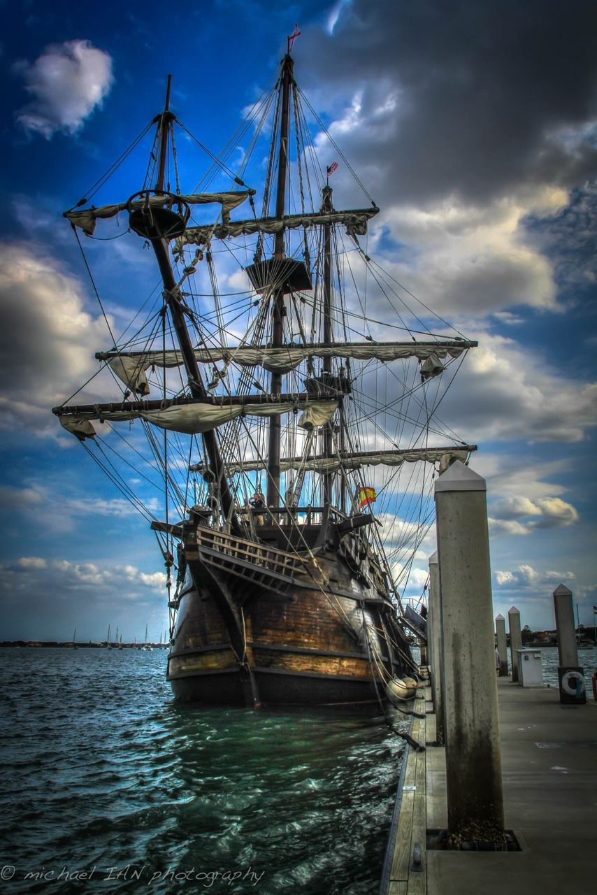 cyj70:  El Galeon Andalucia -- El Galeón Andalucía sometimes ports in St. Augustine FL