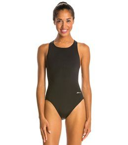 Ocean Racing By Dolfin Solid Performance Back One Piece Swimsuit At Swimoutlet Com One Piece Swimsuits Women S One Piece Swimsuits