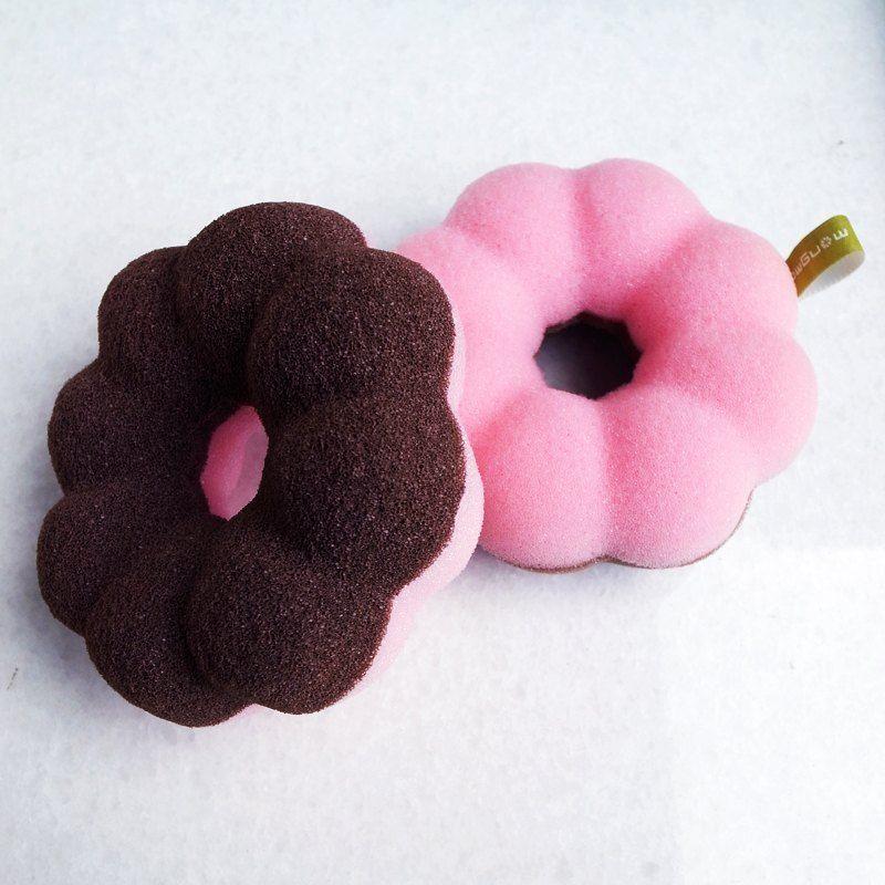 甜甜圈沐浴棉 Donut bath sponge - 設計師 mongma | 夢馬 - Pinkoi