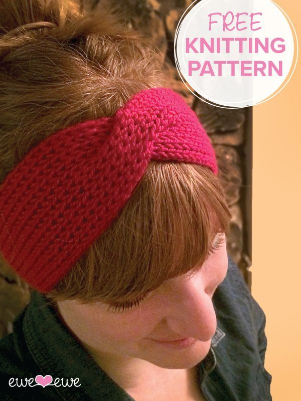 Hot Mess Headband {FREE knitting pattern} — Ewe Ewe Yarns