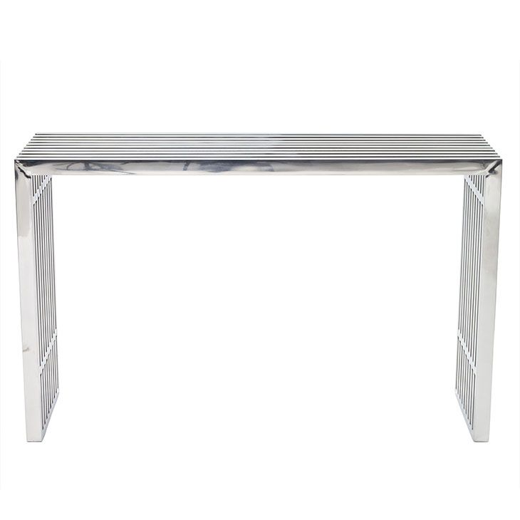 LexMod Gridiron Console Table looks like Amici table but a lot ...