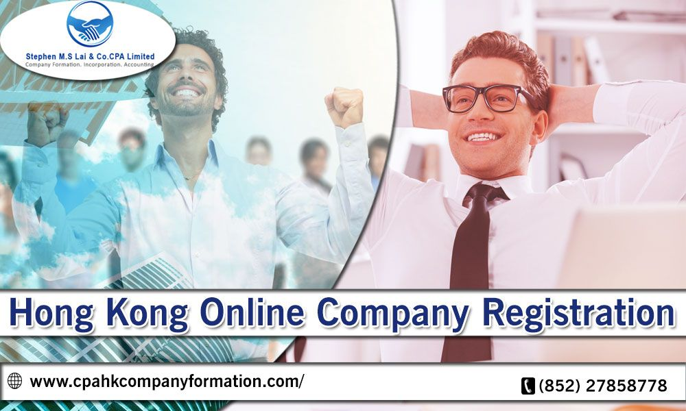 In Hong Kong Online Company Registration is a simple process for new