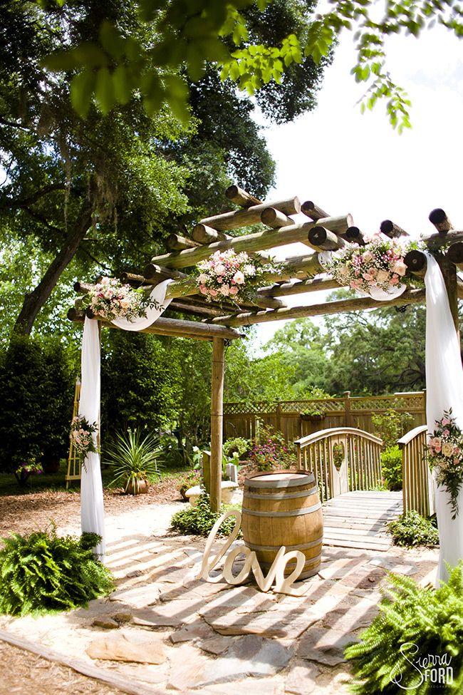 Photos Harmony Gardens Deleon Springs Wedding Pergola Pergola Outdoor Wedding Venues