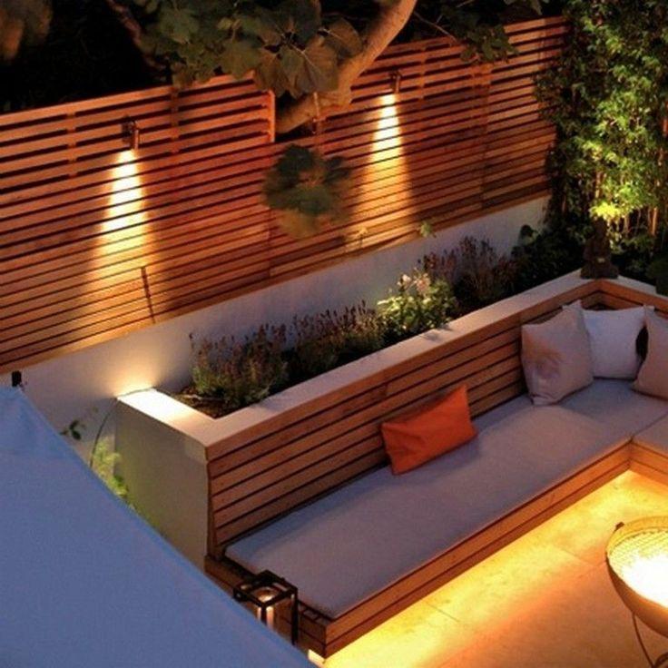 20+ wunderschöne Außenbeleuchtung Ideen für Ihren Garten - TRENDUHOME - Dekoration #landscapelightingdesign