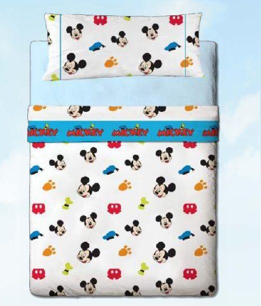 Juego sábanas Disney Mickey colors by gamanatura | Gamanatura Kids ...