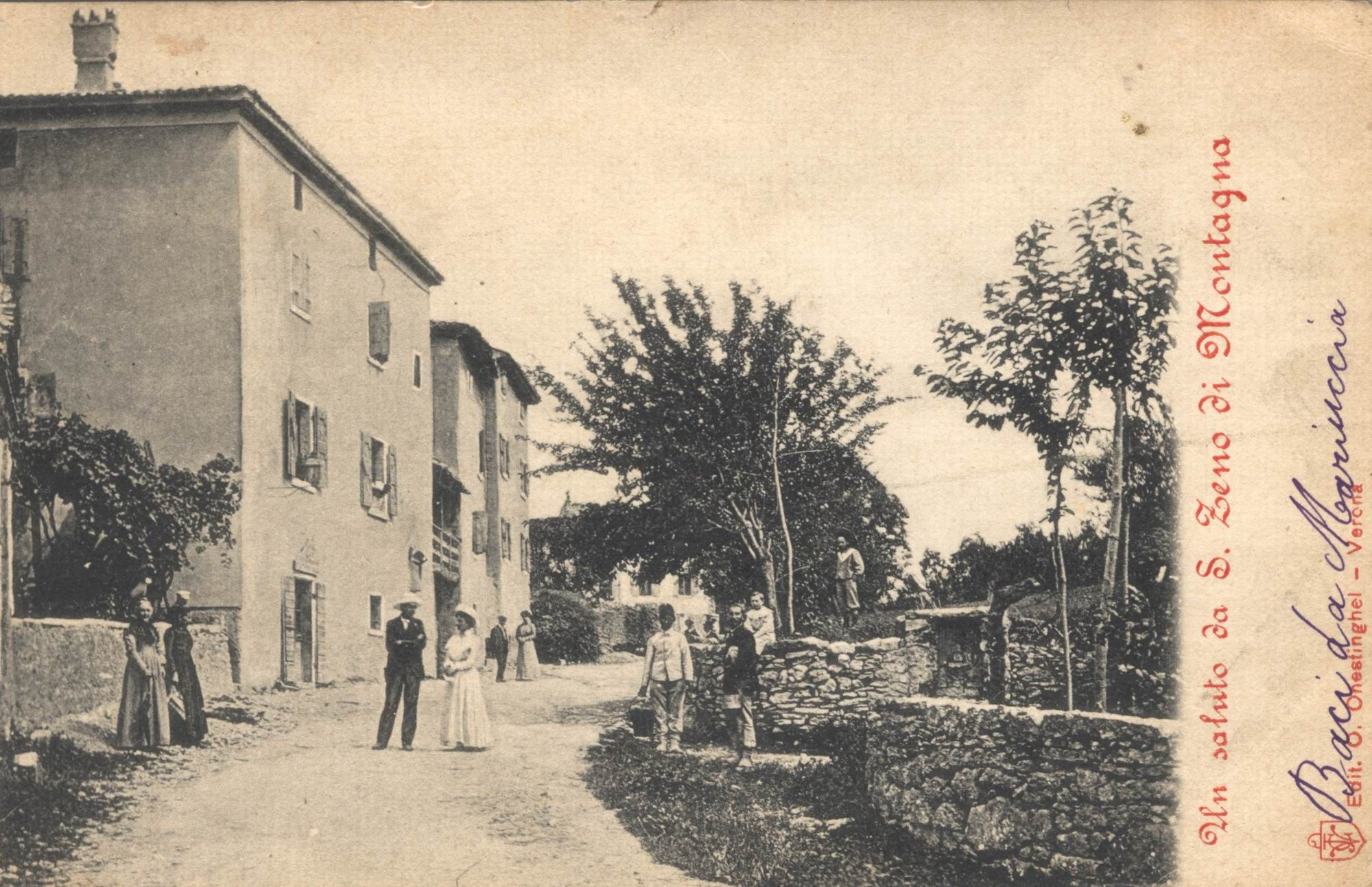 San Zeno di Montagna - primi 900