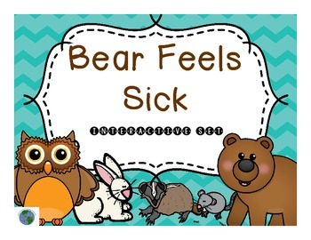 Bear Feels Sick Interactive Companion Set Feeling Sick Picture