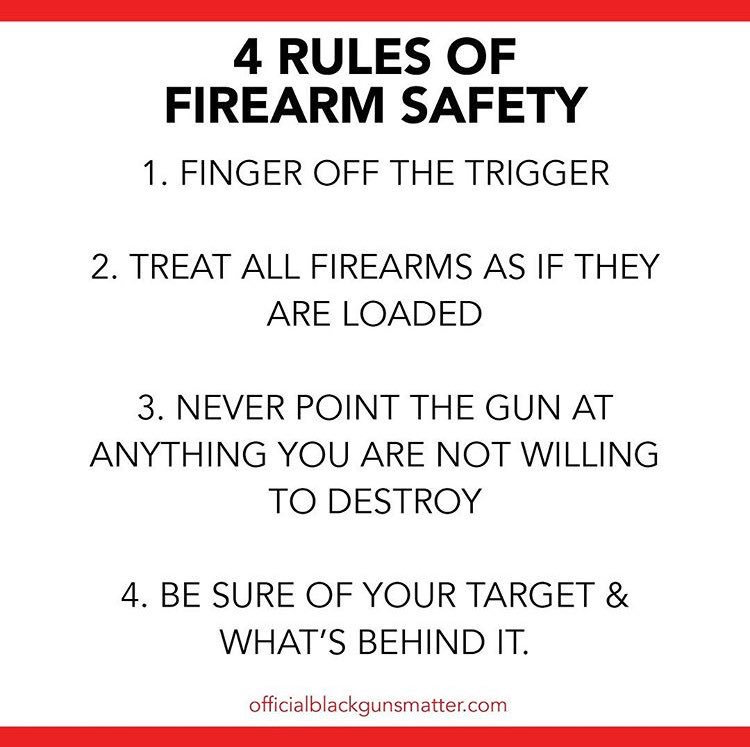Save those thumbs Military guns, Safety, Firearms