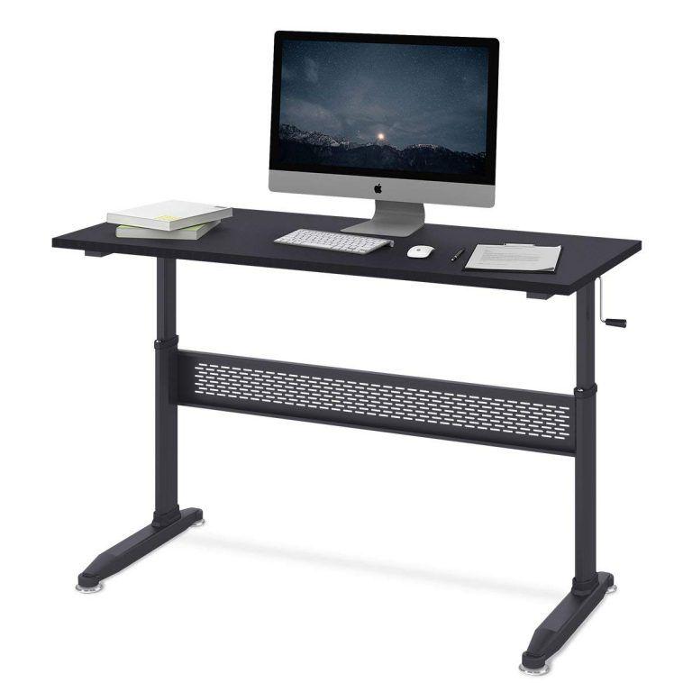 Devaise Adjustable Height Standing Desk Adjustable Height