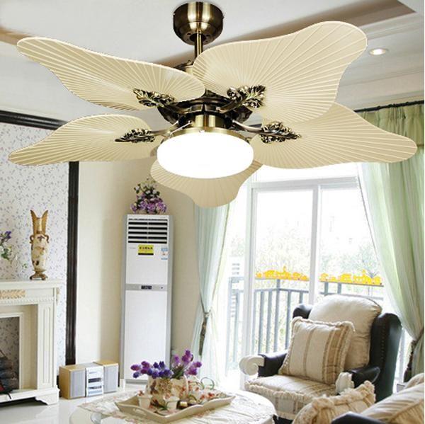 Pacific Coast Collection Beach Elegant Wind Mill Fan light