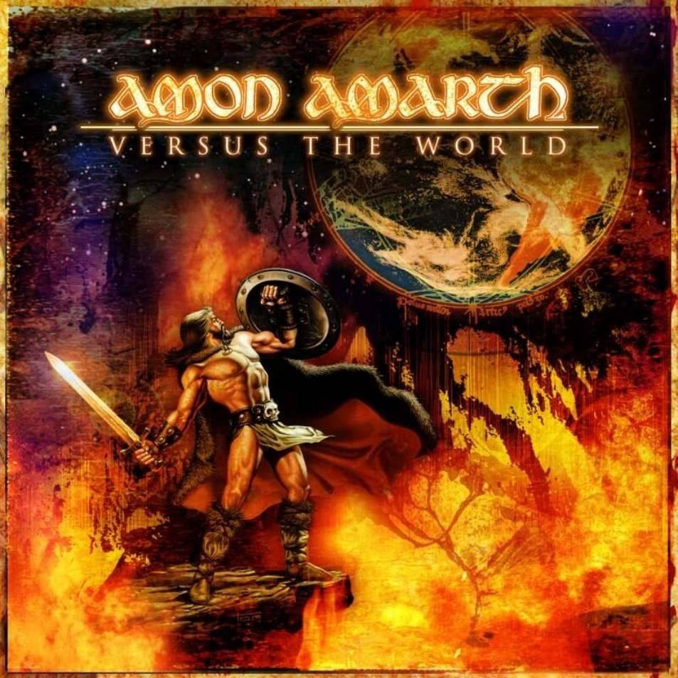 Amon Amarth Versus The World Cover Art Amon Amarth Amon Metal