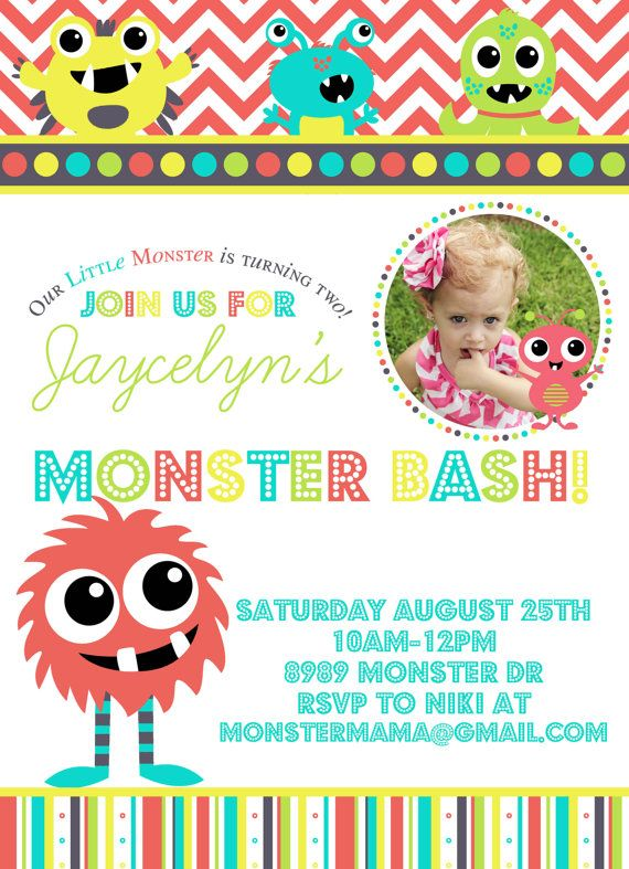 Party Printable Pack Monster Birthday Bash by marcylauren on Etsy - monster resume templates
