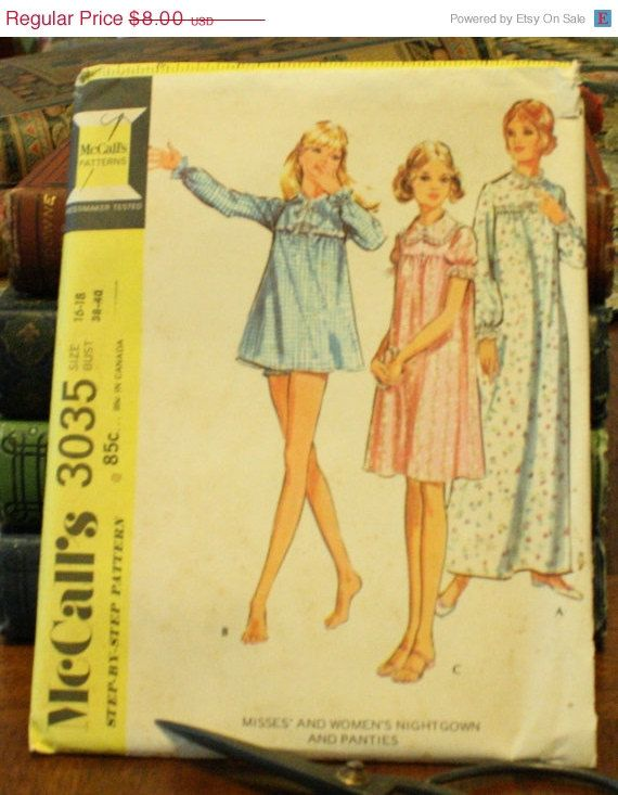 50 Fall Pattern Sale Mccall S 3035 Vintage By Eleanormeriwether