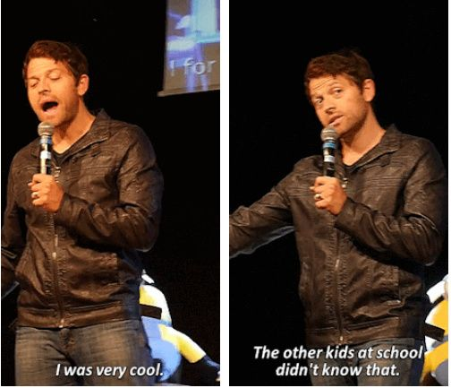 Misha {gifset} JIBCon2015 | Supernatural Convention Pics ...