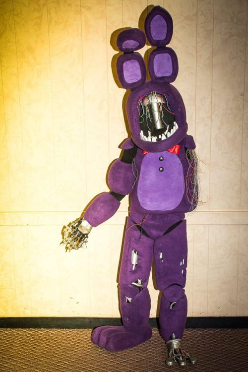 my page withered bonnie from five nights at freddys 2