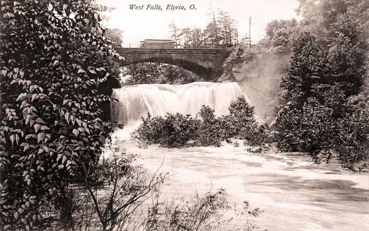 West falls 1907 elyria outdoor elyria hometown