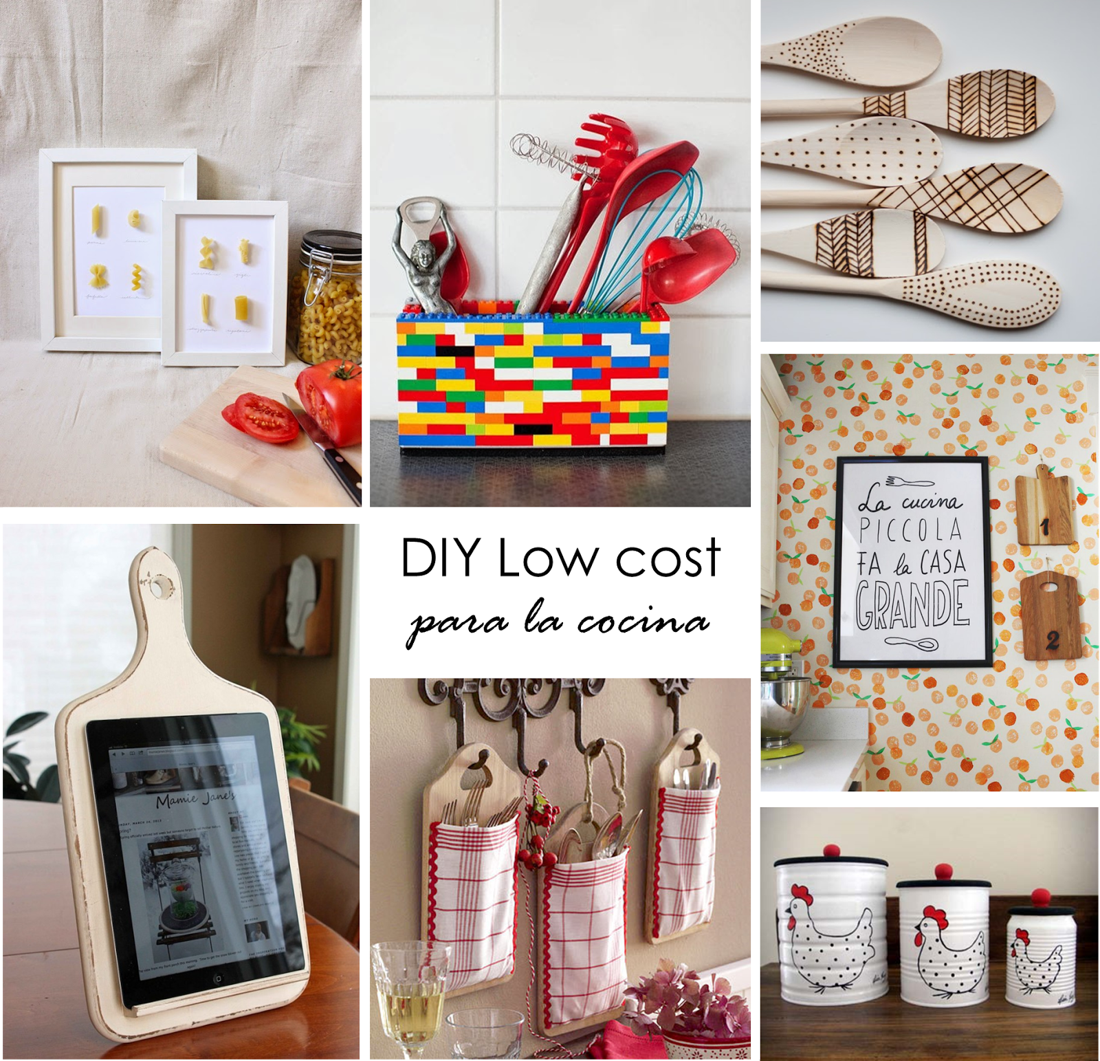 Small lowcost 8 ideas diy para tu cocina decorar tu for Tips para decorar tu casa