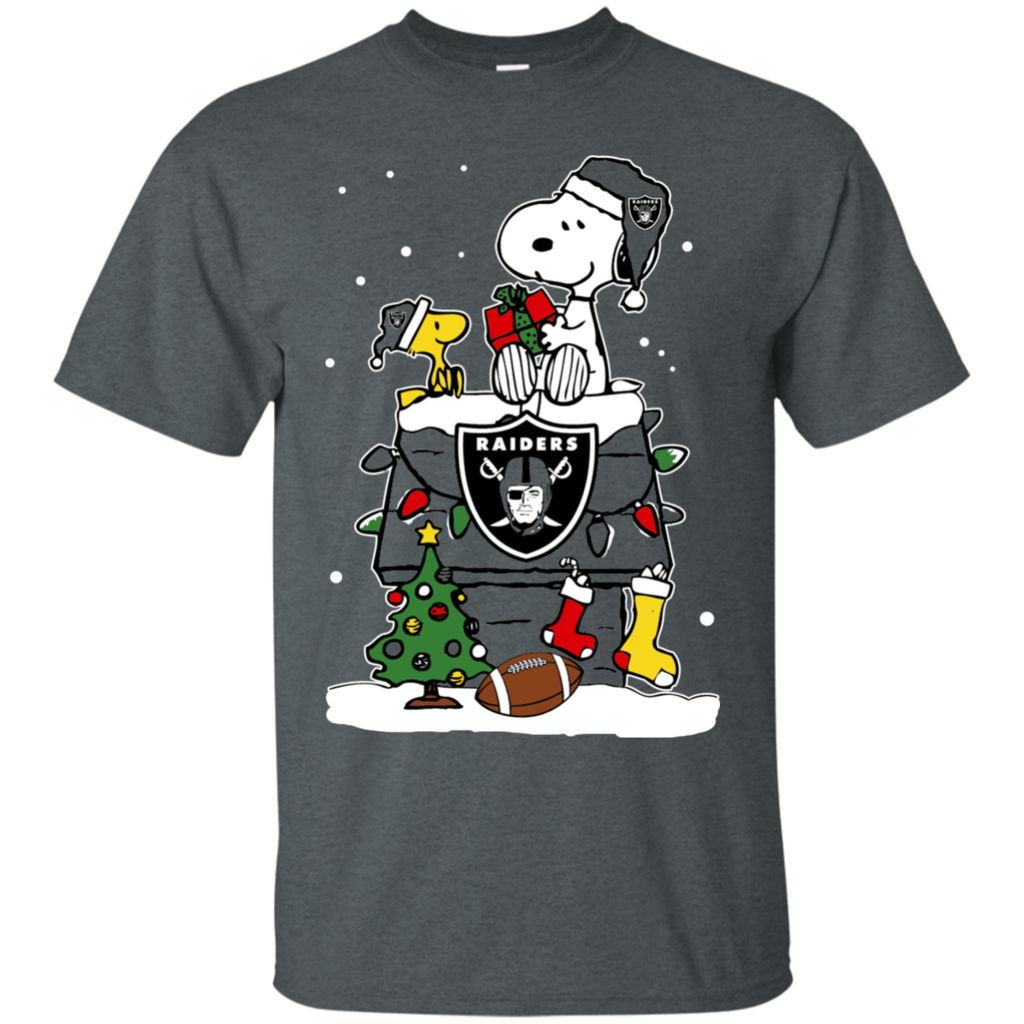 Oakland Raiders shirts Snoopy Christmas T-shirts Hoodies Oakland ...