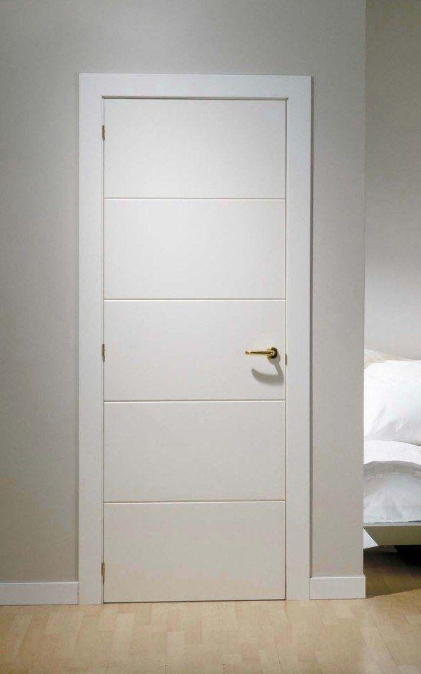 Puerta lacada blanca 600 961 pixels for Puertas interiores blancas