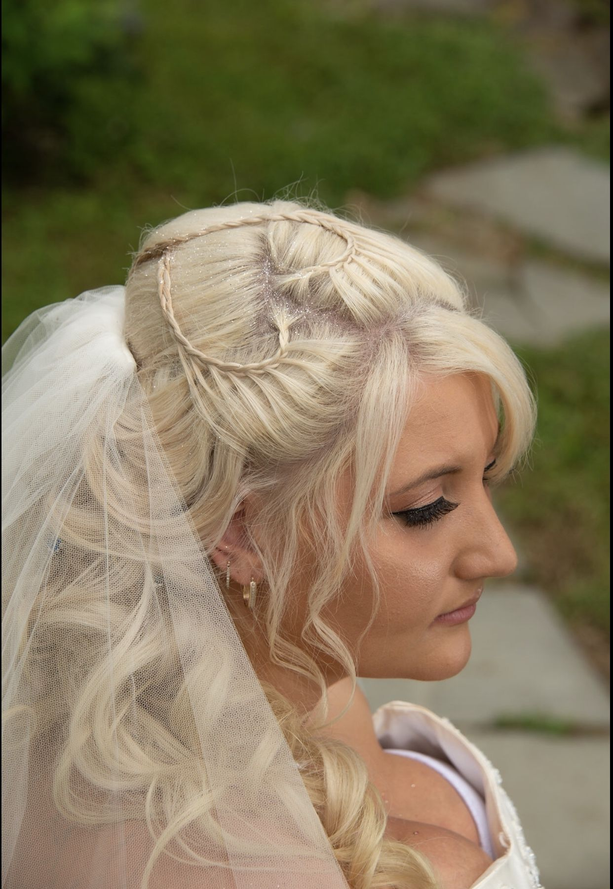bridal hair & makeup by: patti hands photography: regina