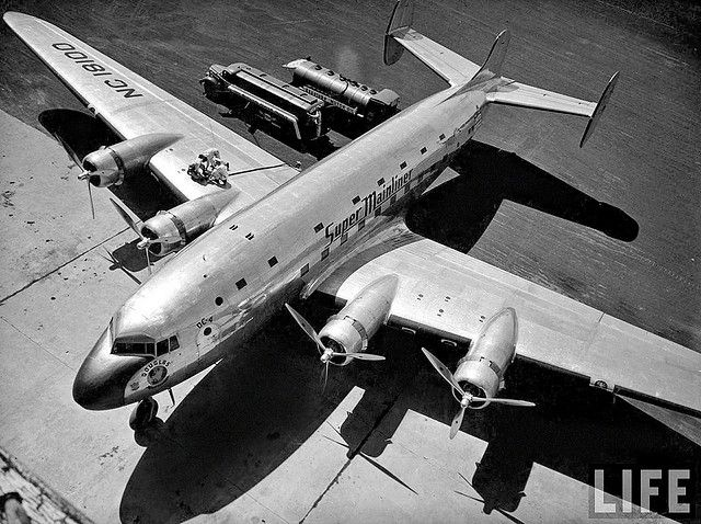 1938 - DC-4E by x-ray delta one on Flickr (cc)