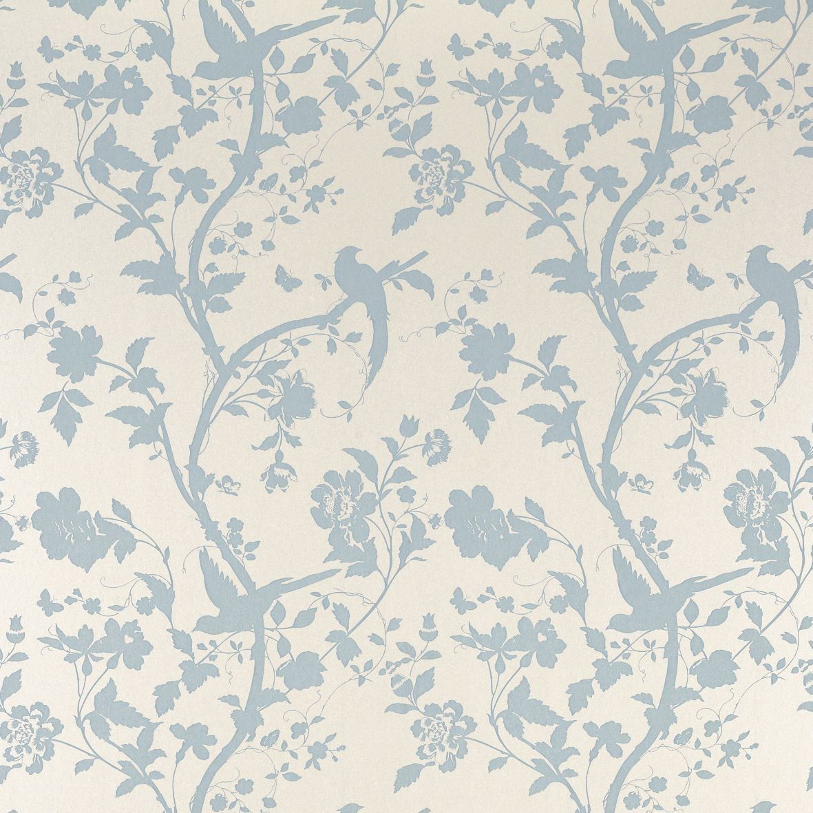 Oriental garden duck egg wallpaper more laura ashley
