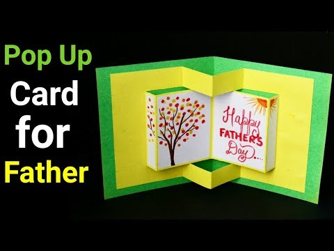 5650 Pop Up Card Tutorial 3d Card For Best Friend Father S Day Gift Ideas Youtube Card Tutorial Teachers Day Gifts Diy Greeting Cards For Birthday