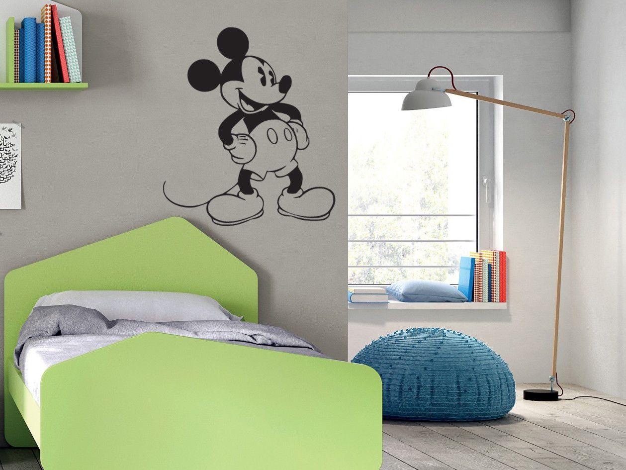 Stickers Cameretta Disney : Wall stickers kids adesivi murali mickey mouse walt disney cartoni