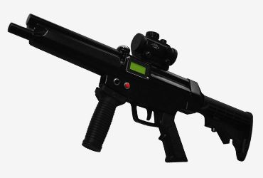 MP5: Another classic sub-machine gun offering power and maneuverability in one package. The MP5 is one of the most popular guns of its kind in the world - for good reason.