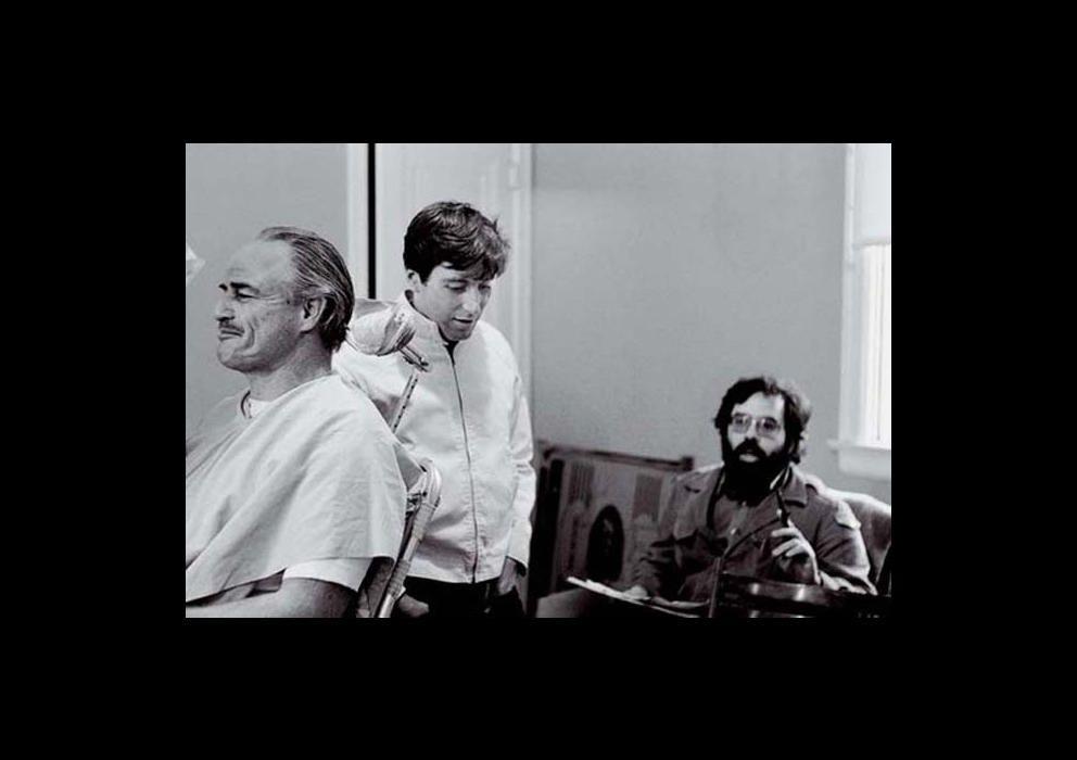 Marlon Brando, Al Pacino y Francis Ford Coppola