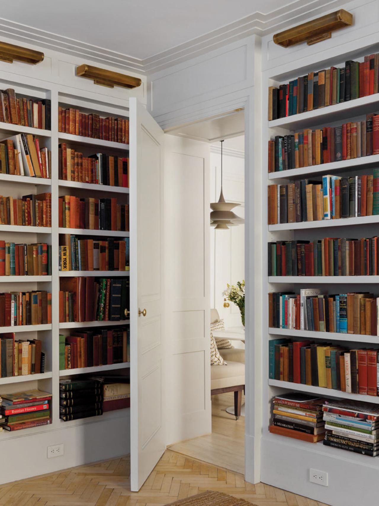 Built in Bookshelves Home Library