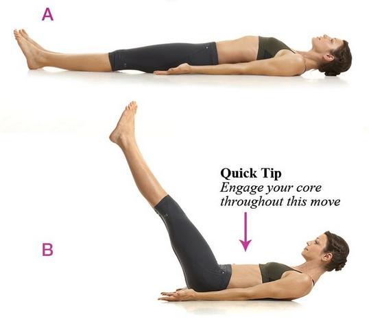 Revival Diet: Leg Lifts