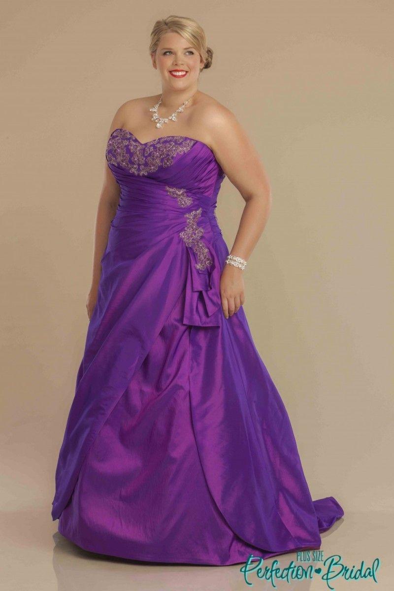Stunning Purple Wedding Dress 18 Wedding Fuzz   Purple wedding ...