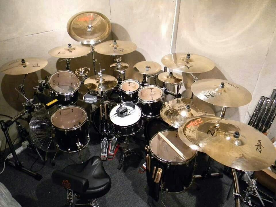 beautiful kit drums in 2019 drums zildjian cymbals percussion. Black Bedroom Furniture Sets. Home Design Ideas