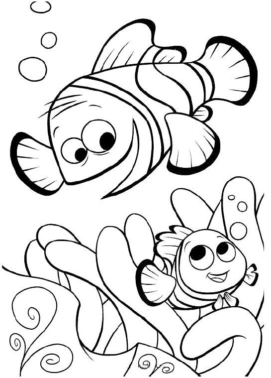 Nemo Color Pages | Coloring Pages