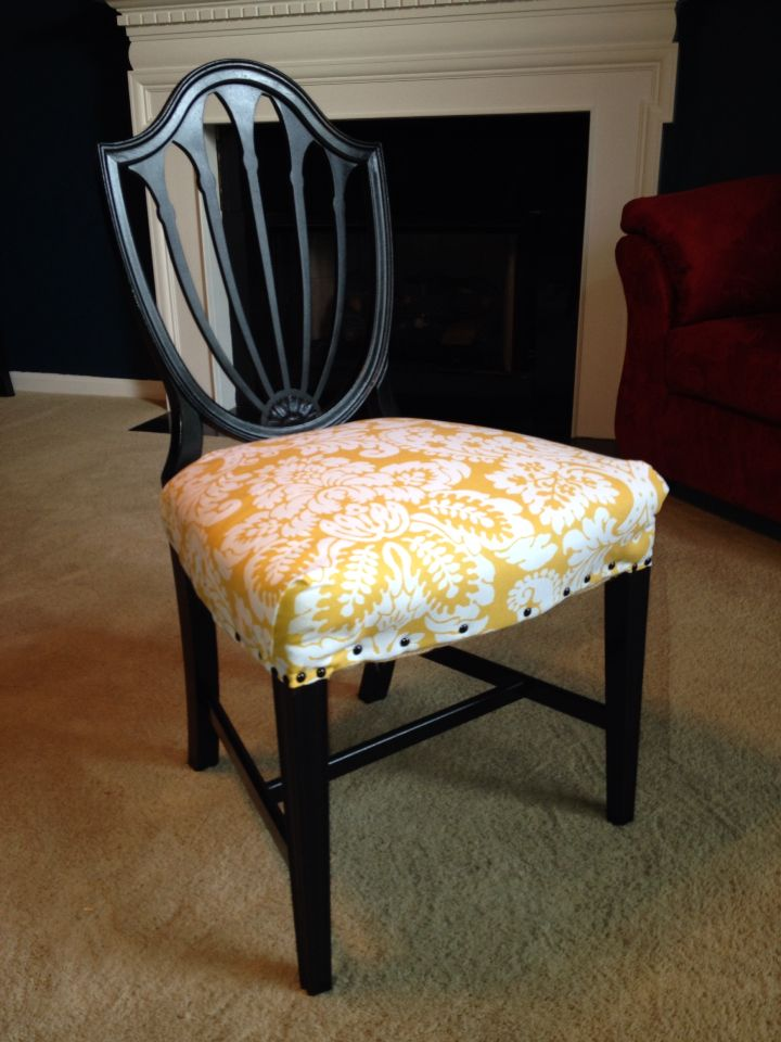 Dining Chair Makeover Upholstery