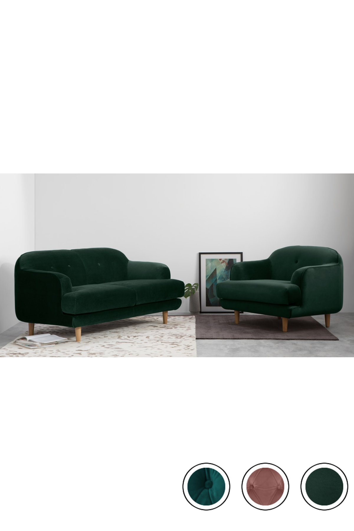 Made 2 Seater Sofa Pine Green Velvet Express Delivery Gracie 2 Seater Sofas Collection From Made Com 2 Seater Sofa Seater Sofa Sofa [ 1800 x 1200 Pixel ]