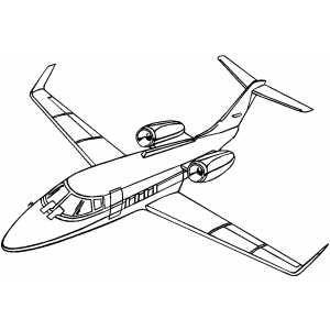 Lear Jet Coloring Pages Pinterest Jets Planes and Airplanes