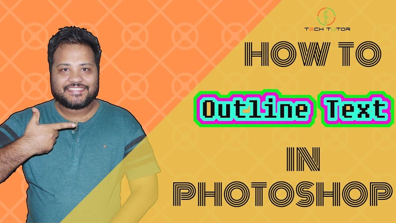 How to Outline_Text or Border_Text in md