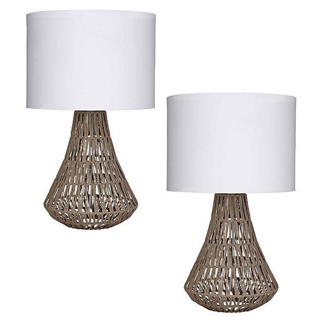 Amalfi Capri Table Lamp Set Of 2 Table Lamp Sets Lamp Table Lamp