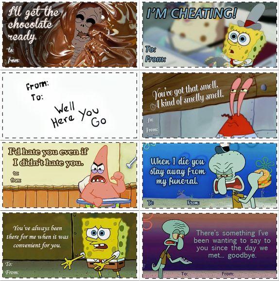 Spongebob Valentines Valentines Day Memes Funny Valentine Nerdy Pick Up Lines